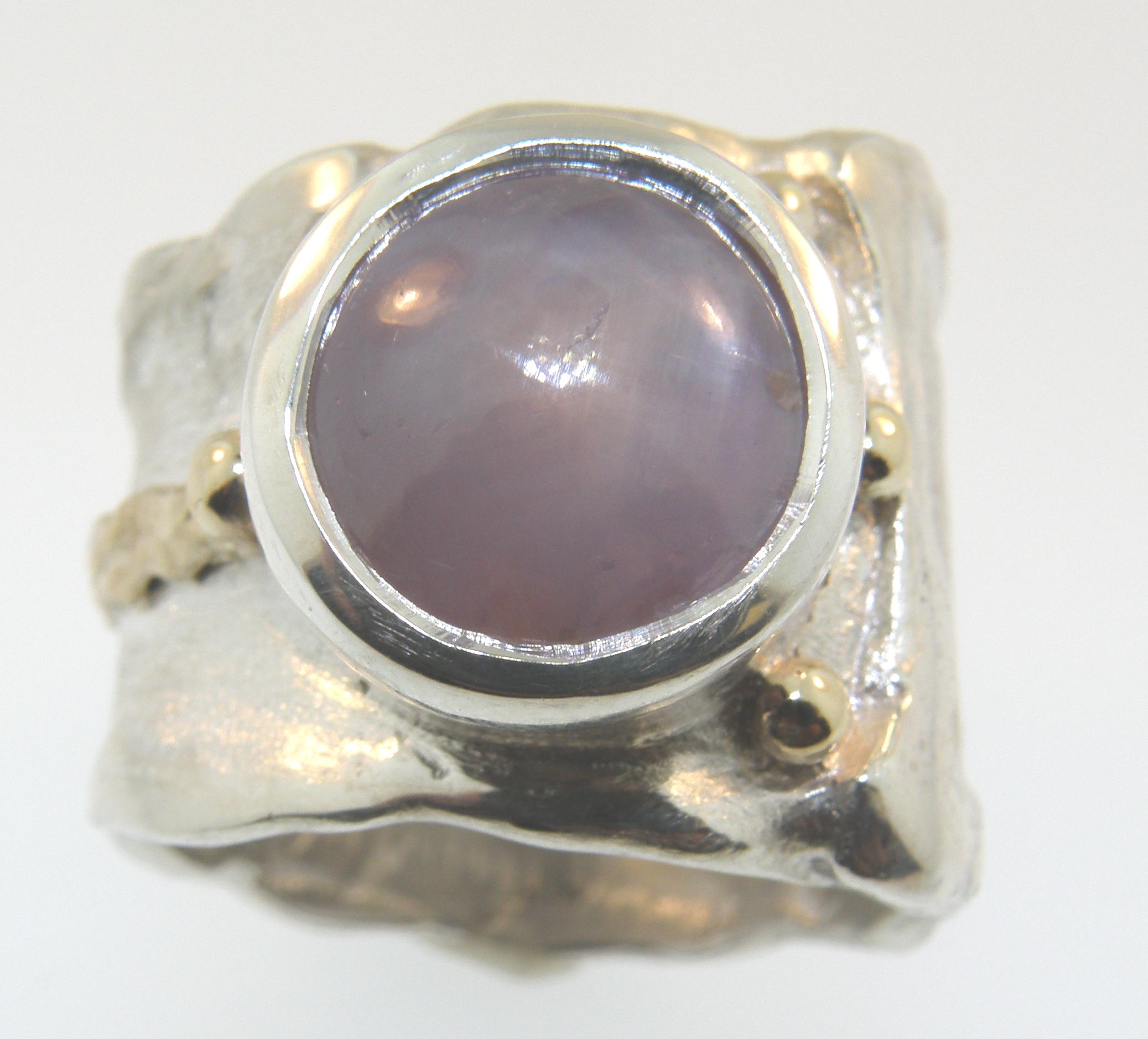 Lavender Star Sapphire Ring